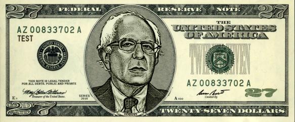 Sanders $27 Money